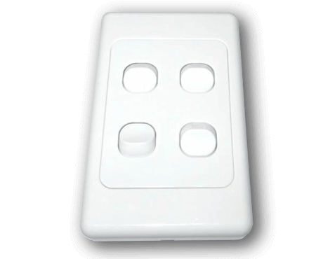 Bakerlight 4 Gang Light Switch