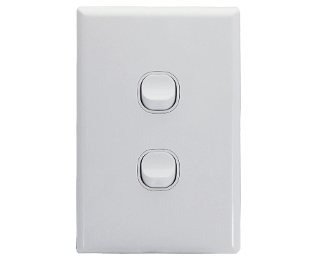 2 Gang Light Switch