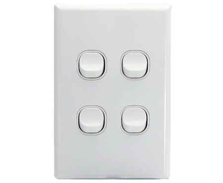 4 Gang Light Switch