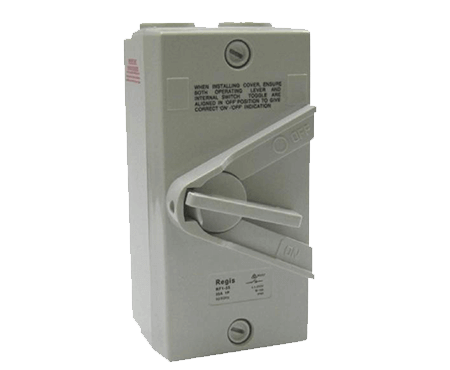 Bakerlite WeatherProof 20A Isolator